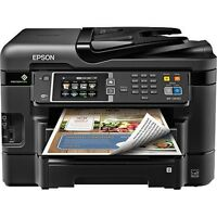 Epson Workforce Wf-3640 All-in-one Color Inkjet Printer