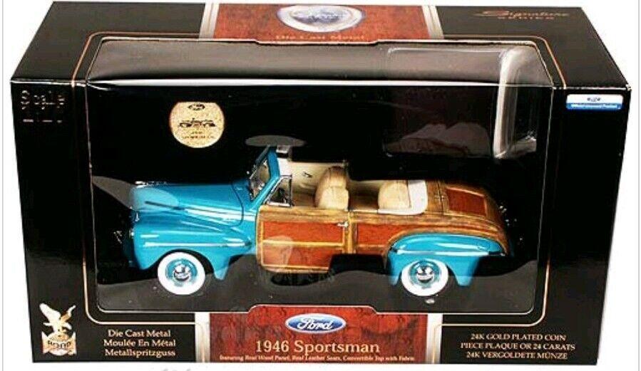 salida de fábrica 1946 Ford deportista Yat Ming Signature Signature Signature Series 20048 Nuevo En Caja  los últimos modelos