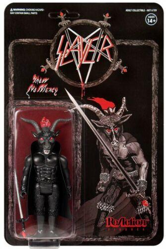 Heavy Metal Legends Slayer Minotaur Action Figure Show No Mercy, Black Magic