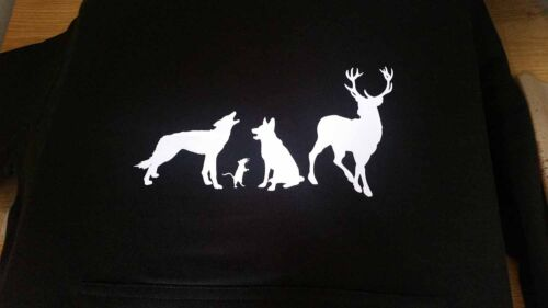 Harry Potter Moony Wormtail Padfoot /& Prongs animagus silhouettes men/'s T-shirt