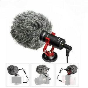 BOYA BY-MM1 Cardioid Shotgun Microphone for DSLR Camera Smartphone Camcorder