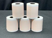 Ge Dash 3000 4000 5000 Printer Paper 5 Rolls 50mmx20m