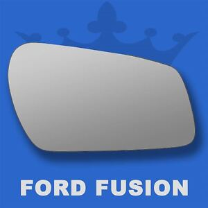 Ford-Fusion-wing-door-mirror-glass-2005-2010-Right-Driver-side-Spherical