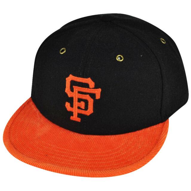 d6a3631e0991d5 MLB American Needle San Francisco Giants Strap Back Black Striped Wool Hat  Cap