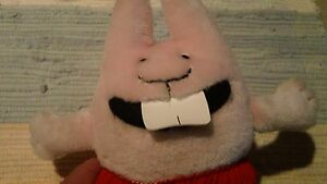 Pink-Baby-Dumb-Bunny-Bunnies-Rabbit-Lovey-Plush-from-Dav-Pikey-Sue-Denim-Book