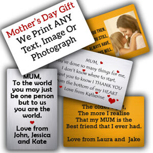 PERSONALISED-SILVER-Aluminium-Wallet-Card-Insert-Mothers-Day-IMAGE-NAME-PHOTO