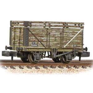 Graham-Farish-377-207-N-Gauge-8-Plank-Coke-Wagon-Ex-PO