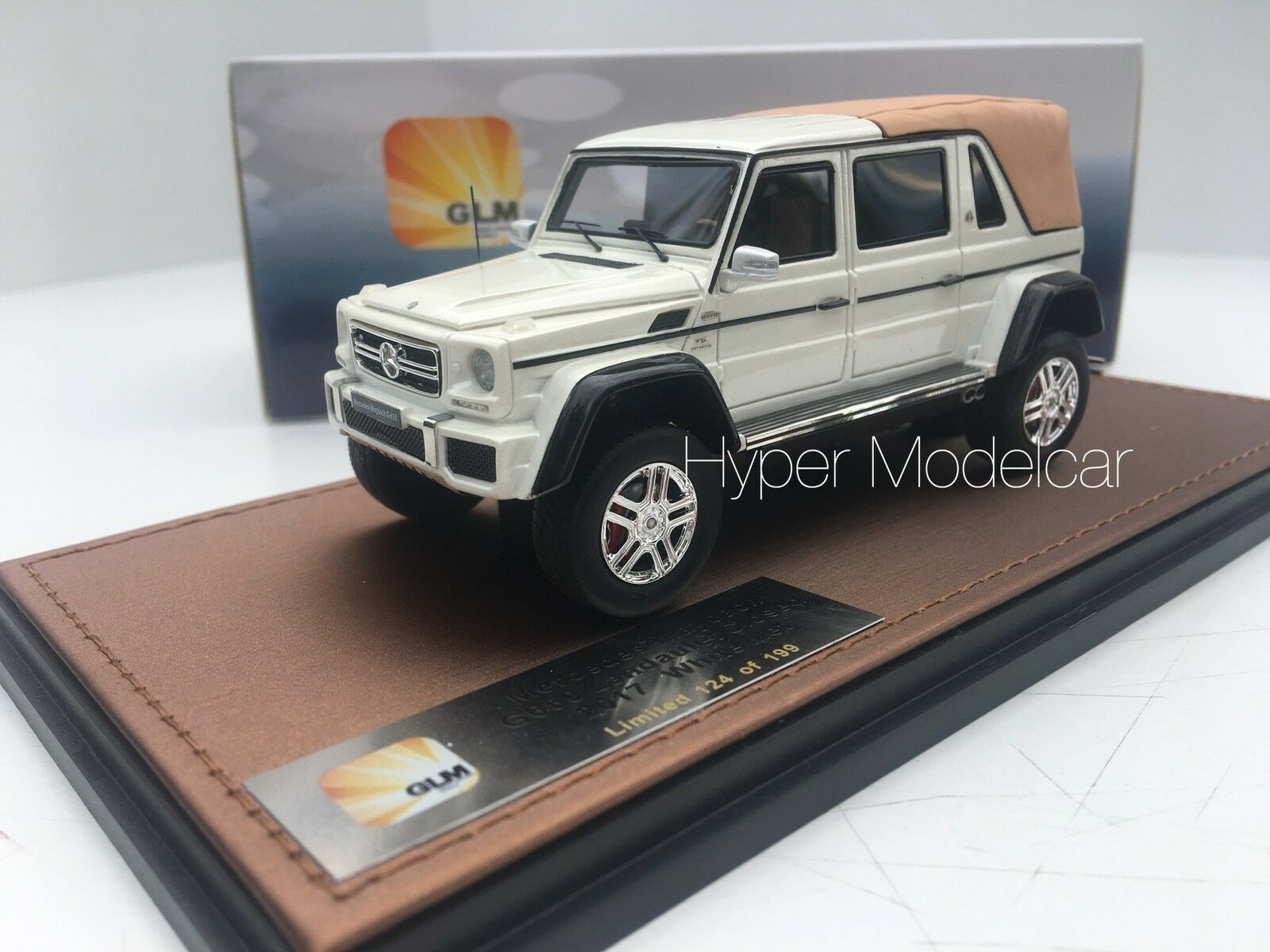 GLM 1 43 Maybach G - Class G650 Landaulet Closed 2017 Art. GLM205705