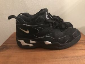 pretty nice d9621 e329c Image is loading 1994-Nike-AIR-Straight-VINTAGE-SNEAKERS-KICKS-BASKETBALL-