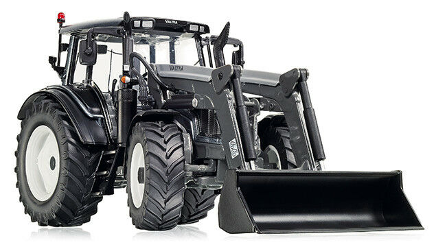 7327 valtra n123 with front loader, 1 3 2 wiking