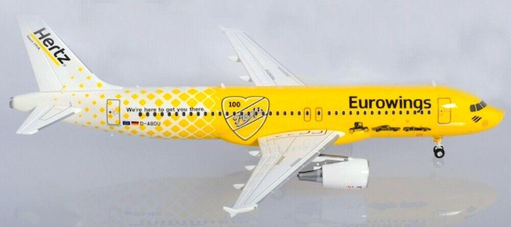 Airautobus A320 Eurowings Europe Hertz 100 ans 1200 Herpa