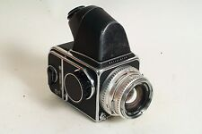 Hasselblad 500 C/M 80mm F2.8, a12 back, prism, FOR REPAIR: NEEDS CLA