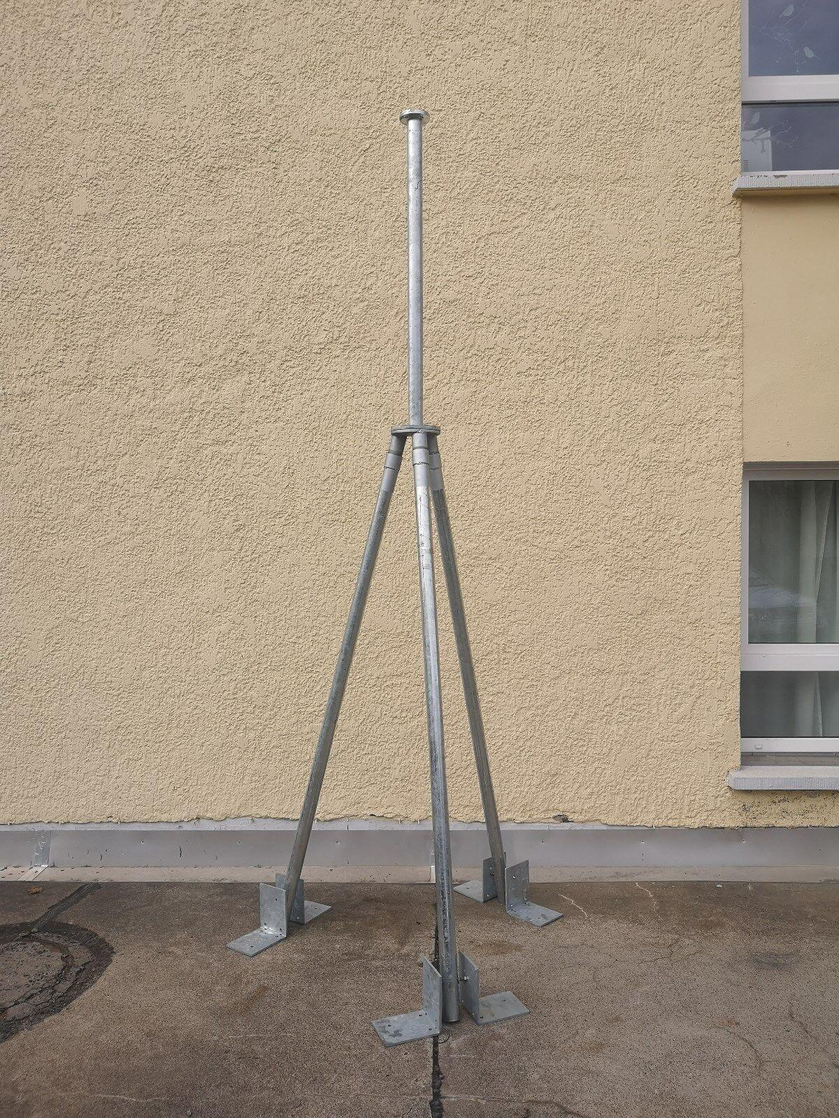 Dreibein-Mast Variante 5 Windanlage Windkraftanlage Windanlage 5 Windgenerator Windkraft 4dcb07
