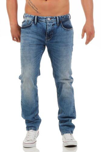Big SEVEN-Morris-Medium Blue-Regular-XXL-BLU JEANS Uomo Pantaloni
