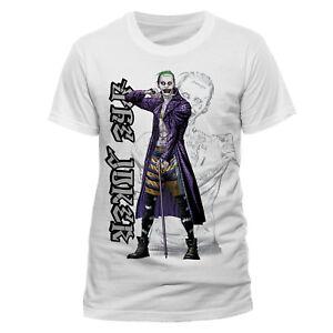 The-Joker-Cartoon-T-Shirt-Official-Batman-The-Dark-Knight-Villain-M-L-XL-XXL