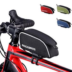 RockBros-Road-Bike-Frame-Bag-Rainproof-Top-Tube-Cycling-Bag-Leopard-Series