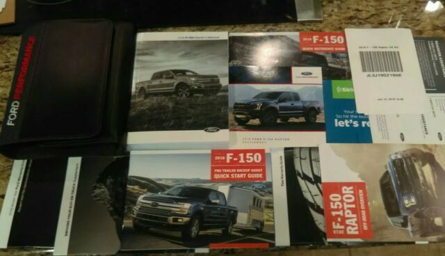 2015 Ford F150 Official Owners Manual Set Manual Guide