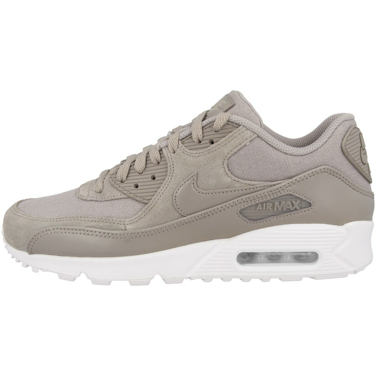Nike Air Max 90 PREMIUM Chaussures baskets Cobblestone Blanc Essentiel BW