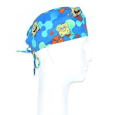 Spongebob Squarepants and Patrick Theme Scrub Hat