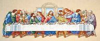 Janlynn Counted Cross Stitch Kit 26 X 10 The Last Supper 1149-11 Sale