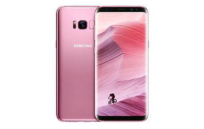 ROSE PINK Samsung Galaxy s8+ s8 Plus DUOS 64GB janjanman120
