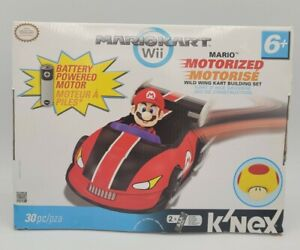 Knex Mario Kart Wii - Mario Motorized Building Set Mega Mushroom New