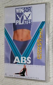 Winsor-Pilates-ABS-Power-Sculpting-with-Resistance-DVD-R-ALL-Free-postage