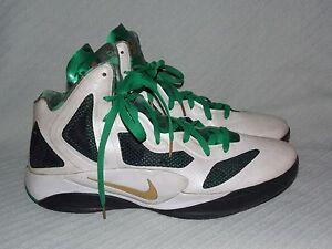 6189caeab2ba Men s Sz 13 Nike Zoom Hyperfuse 2011 Rajon Rondo Home Player Edition ...
