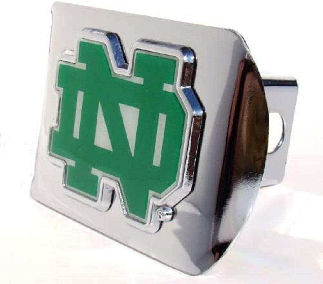 NCAA Notre Dame Fighting Irish Chrome Trailer Hitch Cover
