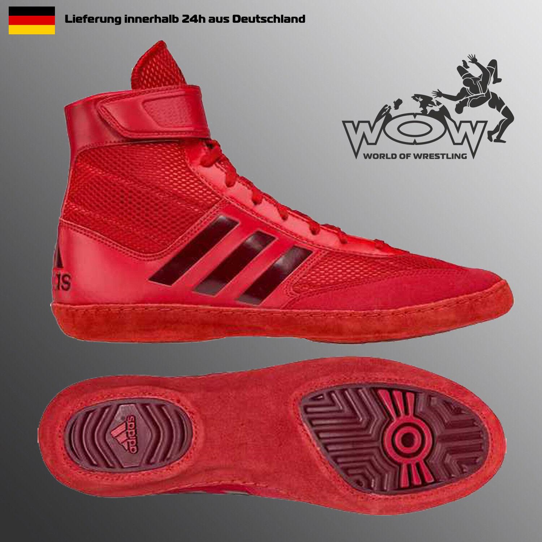 adidas , Herren Wrestlingschuhe Schwarz Schwarz, Schwarz