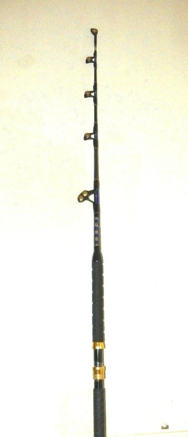OKIAYA STANDUP TROLLING RODS 80-130LB VENOM-PRO CARBON GUIDES BLANK/PACIFIC BAY GUIDES CARBON 5e5f91