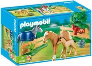 Playmobil 4188 - Paddock Horses Farm Nouveau
