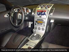 PREMIUM DASH TRIM KIT 25 PCS FITS NISSAN 350 Z 2003-2005 MANUAL (NIS350-03D)