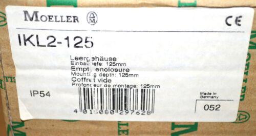 Moeller / Eaton IKL2-125 Leergehäuse IP54 Einbautiefe = 125mm NEU OVP