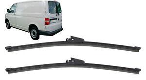 VW-Transporter-T5-2-puertas-traseras-calidad-trasera-plana-Wiper-Blades-2x18-034-V-450mm