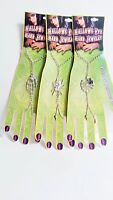 Halloween Fashion Hand Costume Jewelry Spider Spider Web Skeleton Hand