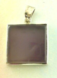Sterling-Silver-925-Chalcedony-Pendant-P40