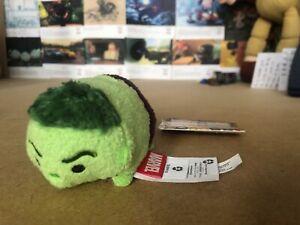 The-Disney-Store-Mini-Tsum-Tsum-Plush-Soft-Toy-Marvel-Incredible-Hulk
