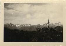 PHOTO ANCIENNE - VINTAGE SNAPSHOT - MONTAGNE PIOLET CURIOSITÉ - MOUNTAIN STRANGE