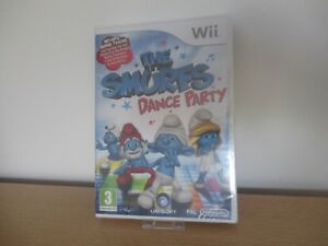 THE-SMURFS-DANCE-PARTY-NEW-amp-SEALED-Nintendo-Wii-pal-version