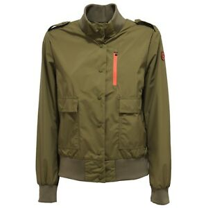 quality design 5b7d0 3ce46 Details about 7788X giubbotto bomber donna SAVE THE DUCK green jacket woman