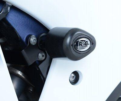 Suzuki GSX R1000 L4 2014 R/&G Racing Aero No-Cut Crash Protectors CP0363BL Black