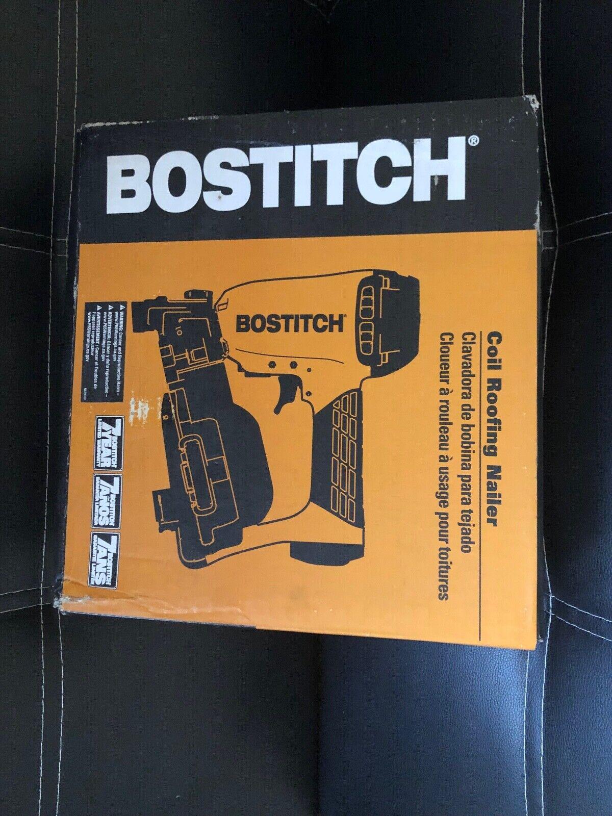 RN461 firstchoiceparts1 BOSTITCH RN46-1 Air Coil 15° Roofing Nailer Nail Gun 3/4 - 1-3/4 - BRAND NEW