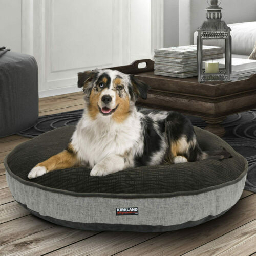 """Kirkland Signature 42/"""" 106.7cm Round Pet Bed 12 Designs*FAST /& FREE DELIVERY*"""