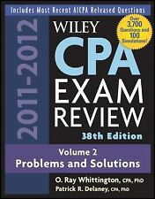 Wiley CPA Examination Review, Problems and Solutions (Wiley Cpa Examination