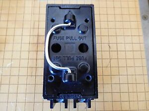 ge trc230 pull out fuse box 30a 120 v model 1 ebay rh ebay com