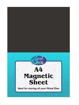 A4 Magnetic Sheet For Storing Metal Dies Die Cutting Sweet Dixie Flexible Magnet