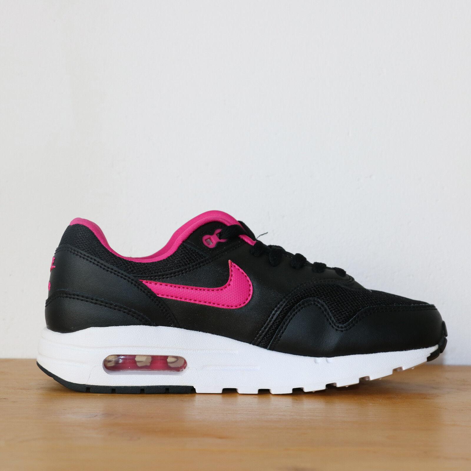 Nike Wmns Air Max 1 GS 5us - 37.5eu  noir  rose Noir Rose Sneakers DS
