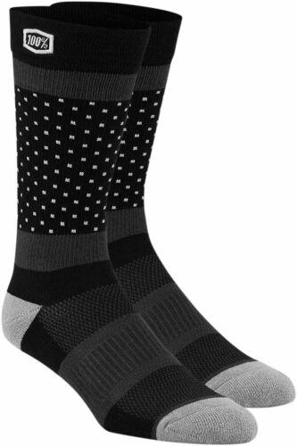 SM-MD 100/% MX Motocross Men/'s OPPOSITION Casual Socks Black//Gray