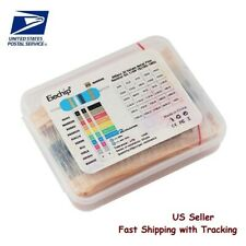 600 Pcs 30 Value Metal Film Resistor Set With Box 10 Ohm1m Ohm Us Seller Fast